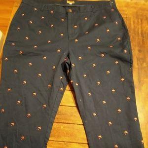 ModCloth Umbrella Print Pants